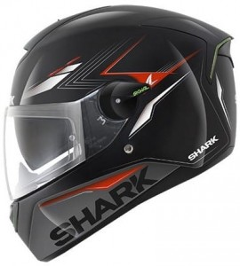 SHARK SKWAL MATADOR BLACK RED SILVER