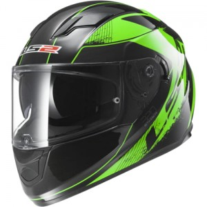 LS2 Stream (FF320) - Stinger Black Fluo Green