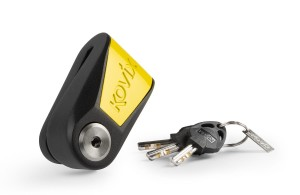 KOVIX KNL15 ALARM BLACK YELLOW