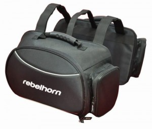 REBELHORN SADDLE BLACK OS
